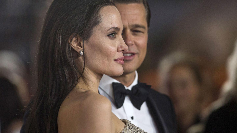 Angelina Jolie y Brad Pitt antes de confirmar su divorcio. (Reuters)