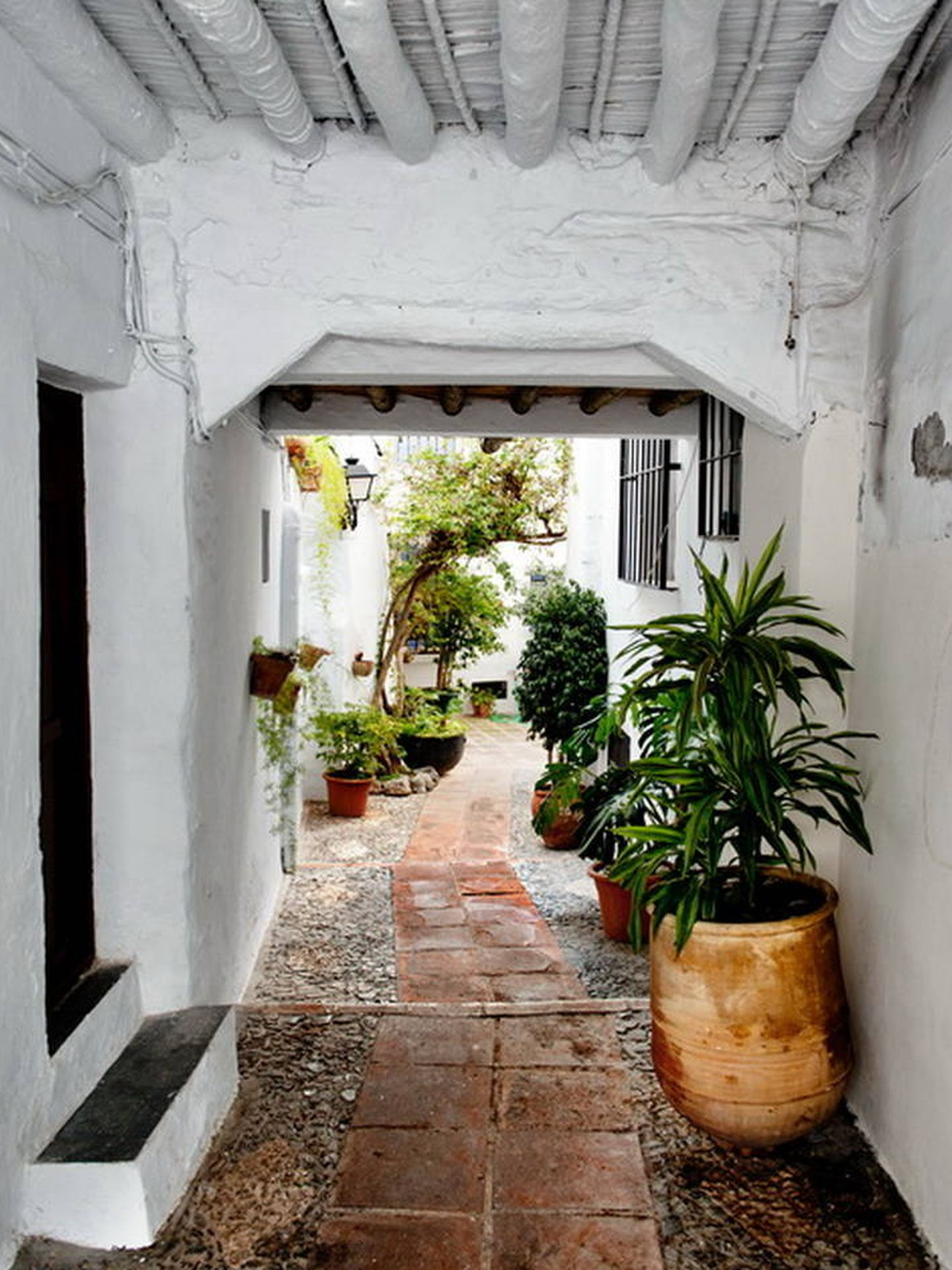 Las calles de este pueblo de la Axarquía. (Foto: Turismo de Frigiliana)