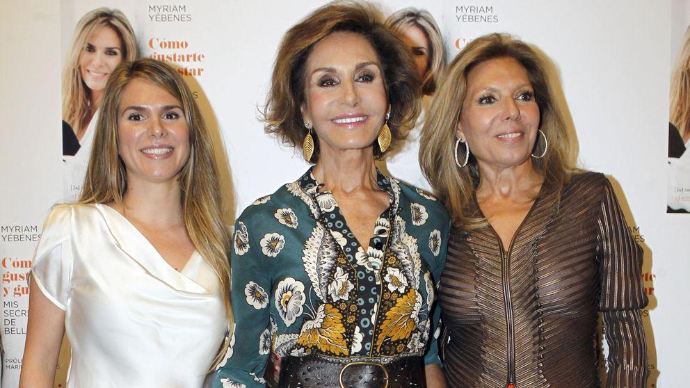 Naty Abascal y Mario Vaquerizo arropan a Miriam Yébenes en el lanzamiento de su libro