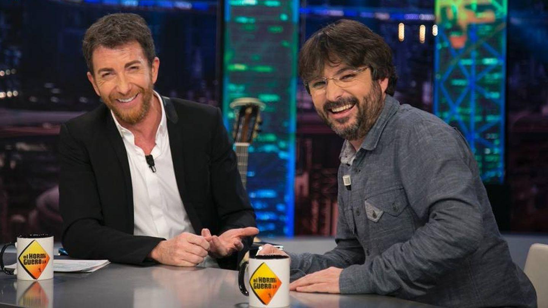 Pablo Motos y Jordi Évole en 'El Hormiguero'.