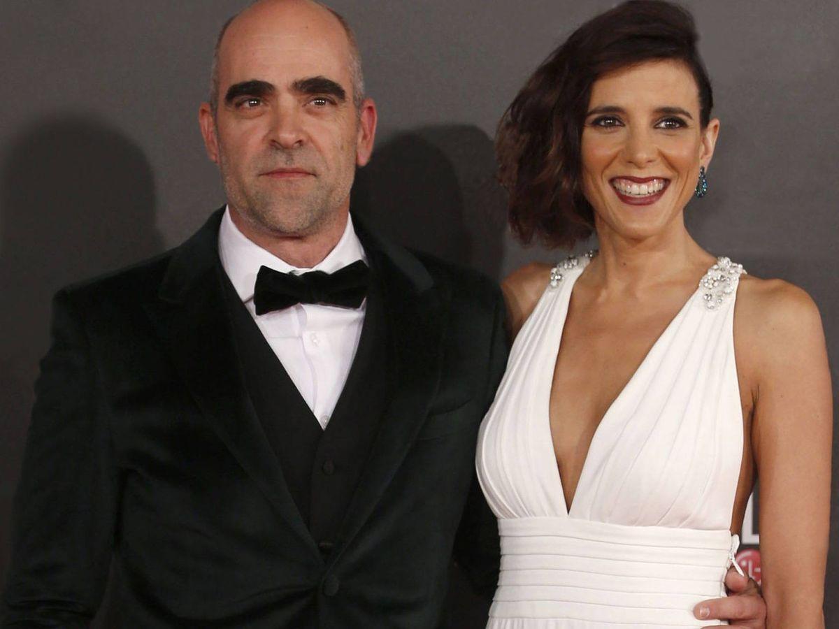 Foto: Luis Tosar y Malú Mayol, en los Goya. (Getty)