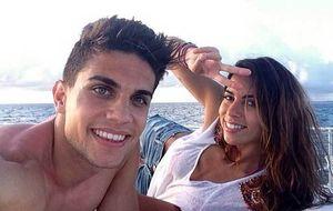 Bartra y Melissa Jiménez se escapan juntos a Maldivas