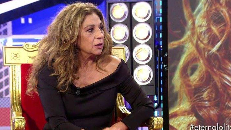 Lolita Flores, en 'Sábado Deluxe'. (Telecinco).