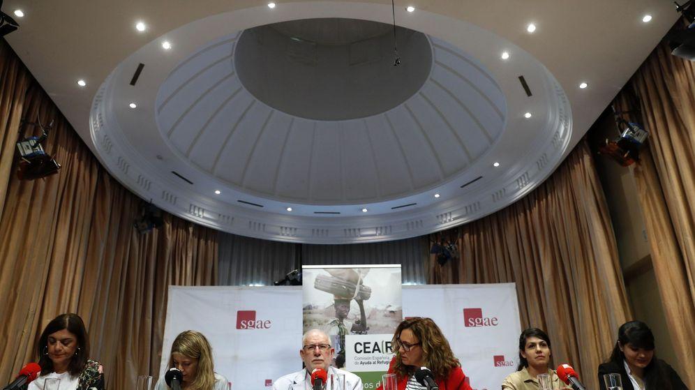 Foto: El presidente de Cear, Carlos Berzosa, durante la presentación del informe de 2018. (EFE)