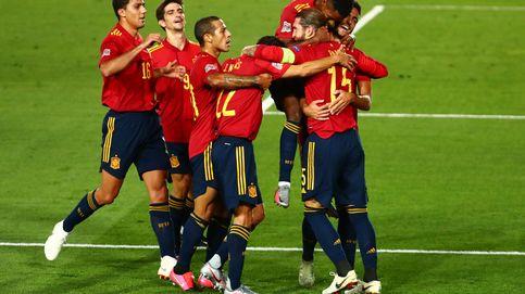 España bate récords con Ansu y Ramos en un paseo de España ante Ucrania (4-0)