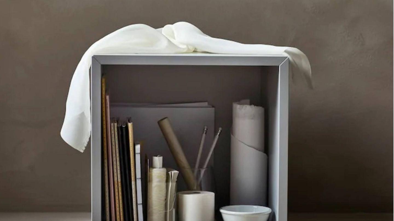 Decoración minimalista gracias a Ikea. (Cortesía)