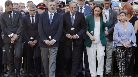 El homenaje a las víctimas de Las Ramblas mantiene este año la neutralidad institucional