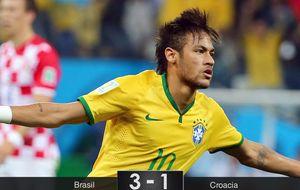 Los tres puntos y Neymar, únicas alegrías entre las sombras de Brasil