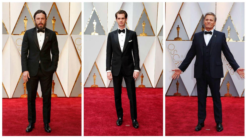 Casey Affleck, Viggo Mortensen y Andrew Garfield: los hombres de los Premios Oscar