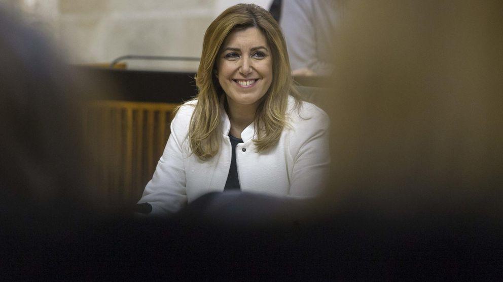 Funcionarios calientan la campaña de Susana Díaz por los recortes