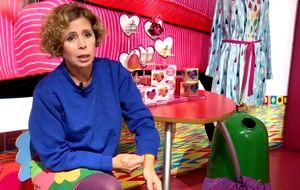 ¿Qué le pasa a Agatha Ruiz de la Prada con el vidrio?