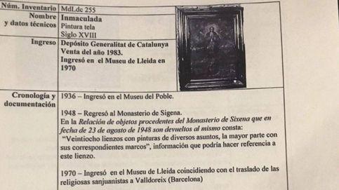 Lleida no entrega un valioso lienzo de Sijena y dice que se ha extraviado