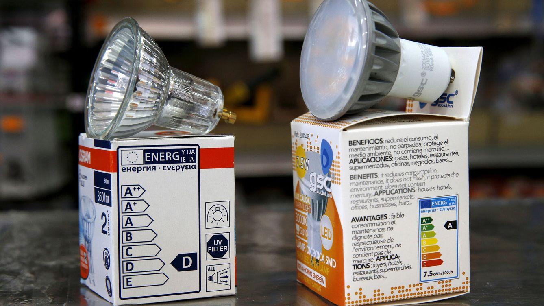 Foto: Las bombillas halógenas dan paso a la tecnología LED. (EFE)