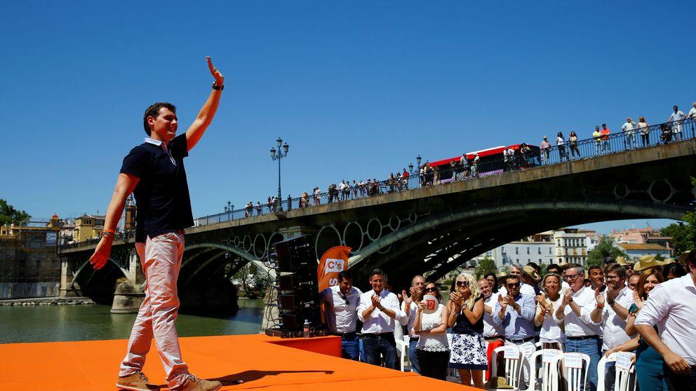 Rivera busca despegar desde Andalucía con el voto de los desencantados del PP