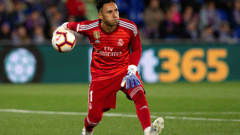 Foto: Keylor Navas se ha quedado sin jugar en los tres últimos partidos del Real Madrid. (EFE)
