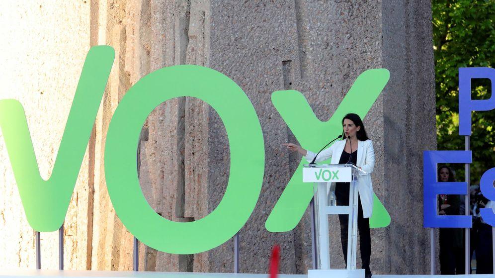 Foto: Rocío Monasterio, candidata autonómica de Vox a la Comunidad de Madrid. (Efe)