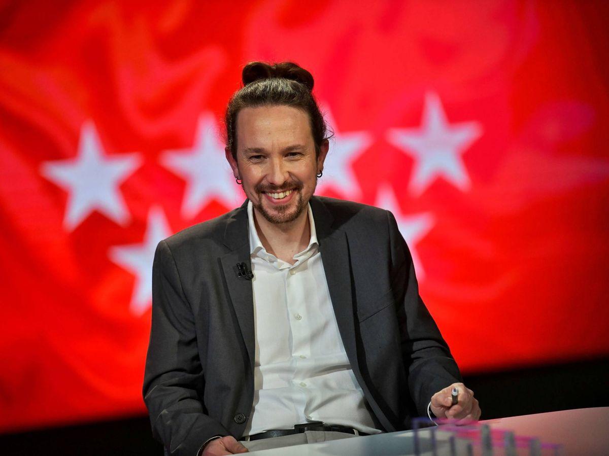 Foto: Pablo Iglesias, en su primera entrevista tras anunciar su candidatura a la Comunidad de Madrid. (Dani Gago)