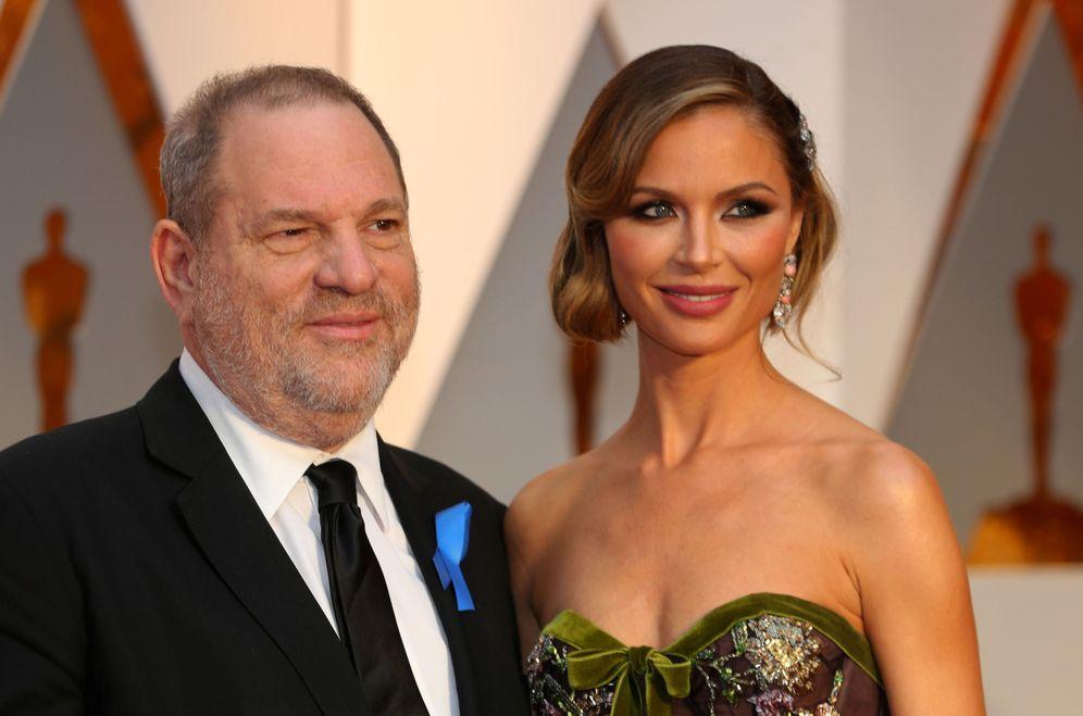 Foto: Georgina y Weinstein en una imagen de archivo. (Reuters)