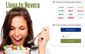 Una web que aprende lo que no te gusta y te propone nuevas recetas