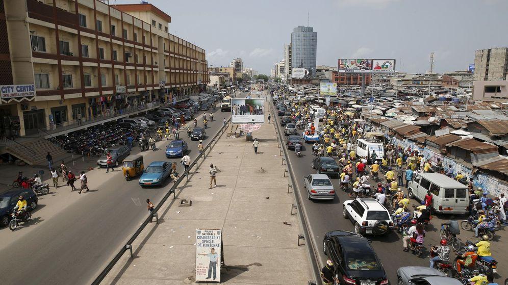 Foto: Una calle en Cotonú, Benin. (Reuters)