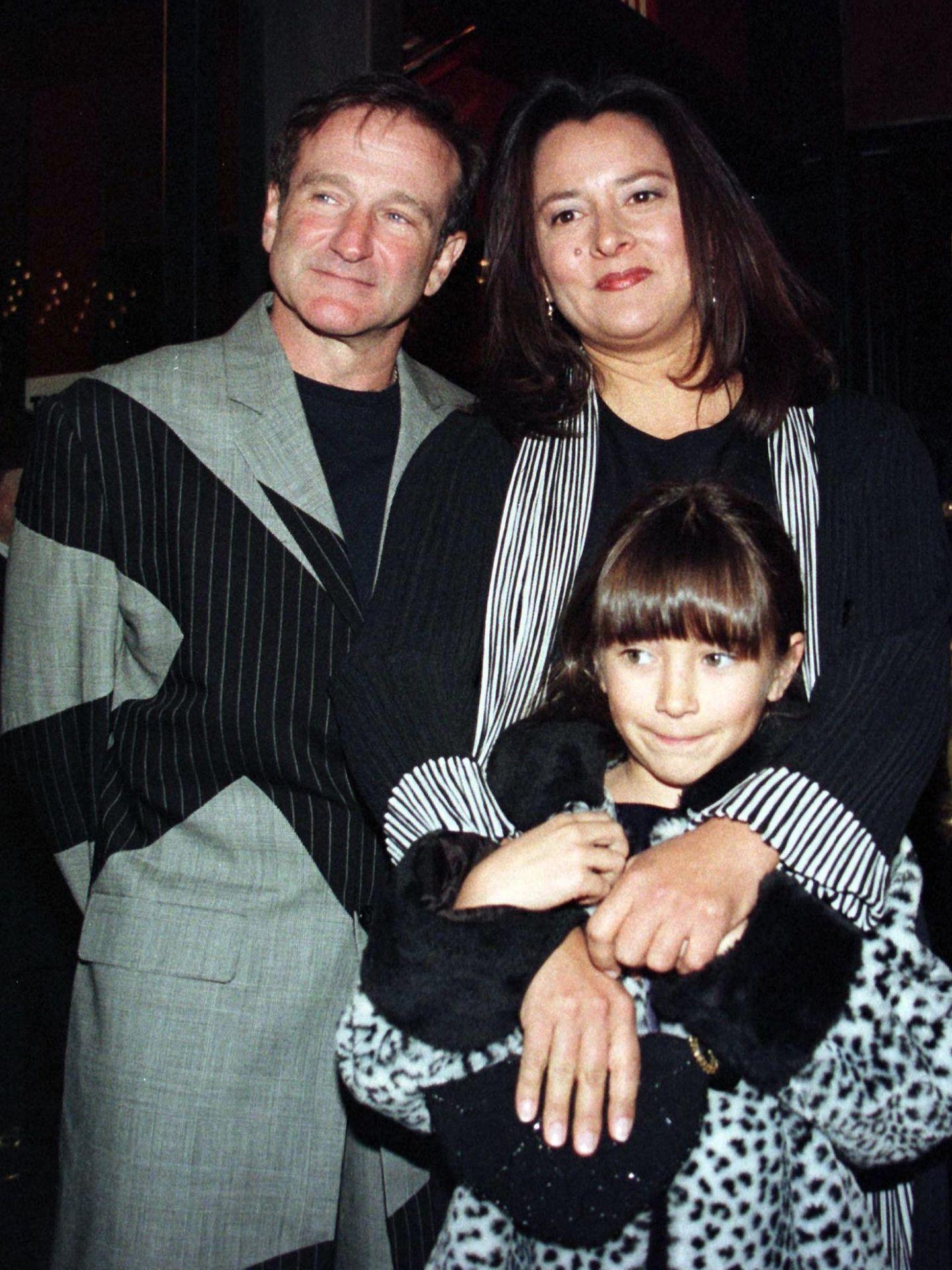Zelda junto a sus padres. (Reuters)