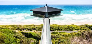 Post de Vivir sobre un poste: The Pole House, la casa más exótica de Australia