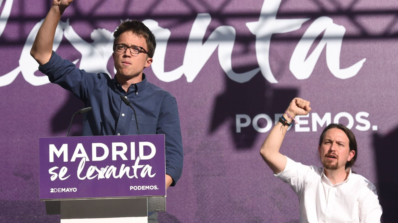 Íñigo Errejón y Pablo Iglesias. (EFE)