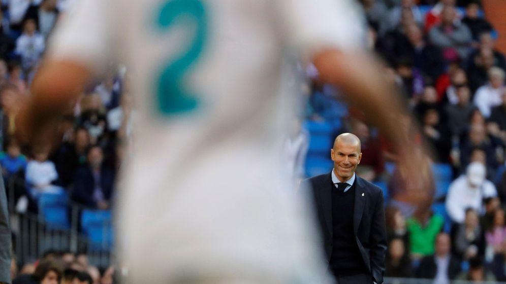 Foto: El entrenador del Real Madrid ha perdido el rumbo. (EFE)