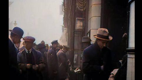 Un sorprendente paseo en 4K por Reino Unido durante la gripe de 1918