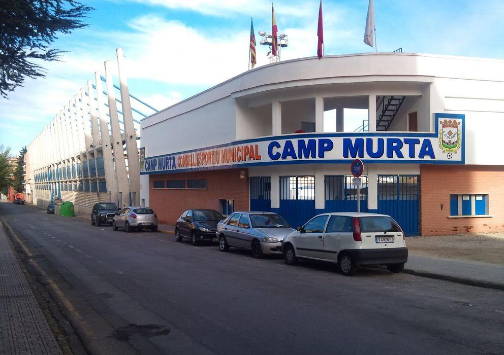 Foto: Imagen del estadio del Olimpic de Xátiva.