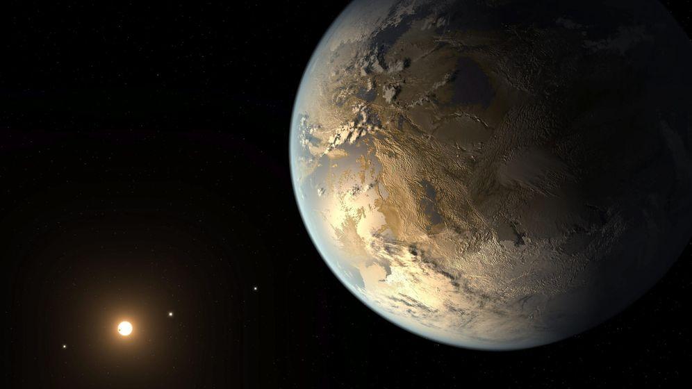 Foto: ¿Un planeta habitable o ya habitado? ¿Realmente quieres descubrirlo? (Efe/NASA)