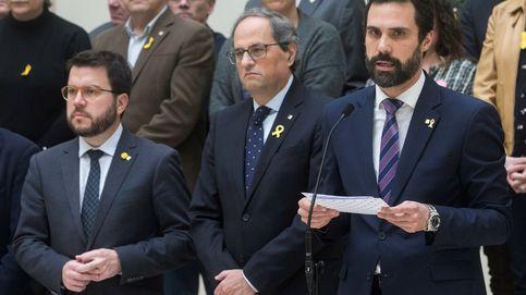 Torra y dos parlamentarios catalanes tendrán plaza en el juicio del 'procés'
