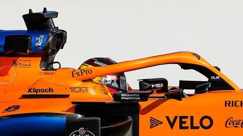 Carlos Sainz tiene que disculparse con sus mecánicos, pero devuelve el favor en la pista