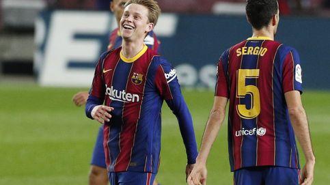 Koeman desata la versión salvaje de Frenkie de Jong en el Barça