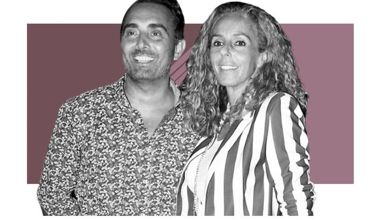 Fidel Albiac y Rocío Carrasco. (Vanitatis)