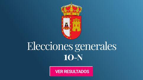Resultado de las elecciones generales: el PSOE y el PP empatan en Burgos