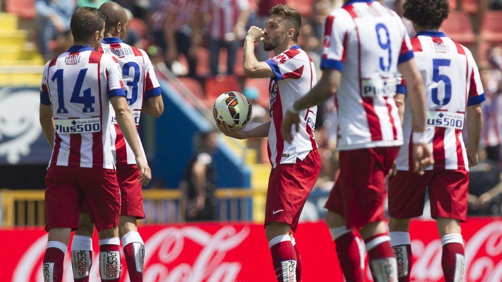 Foto: El Atlético de Madrid necesita tres puntos para meterse en la próxima Liga de Campeones.