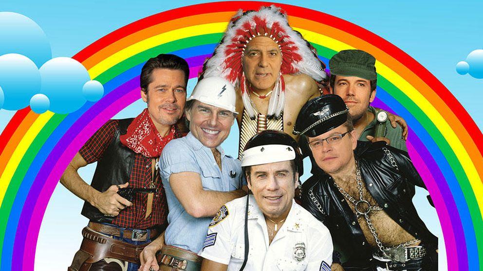 Cruise, Pitt o Travolta forman el lobby gay más disparatado de Hollywood
