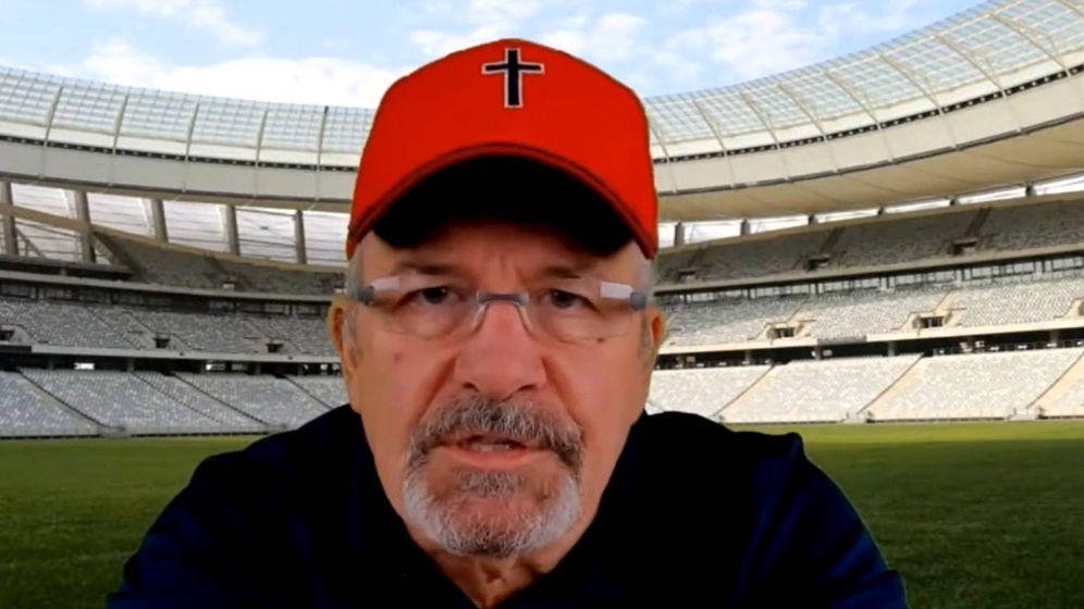 Foto: Dave Daubenmire, durante uno de sus podcast en los que habla de lo sucedido en la Super Bowl (Foto: Vimeo)