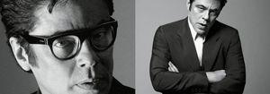 Benicio del Toro, como un gentleman inglés