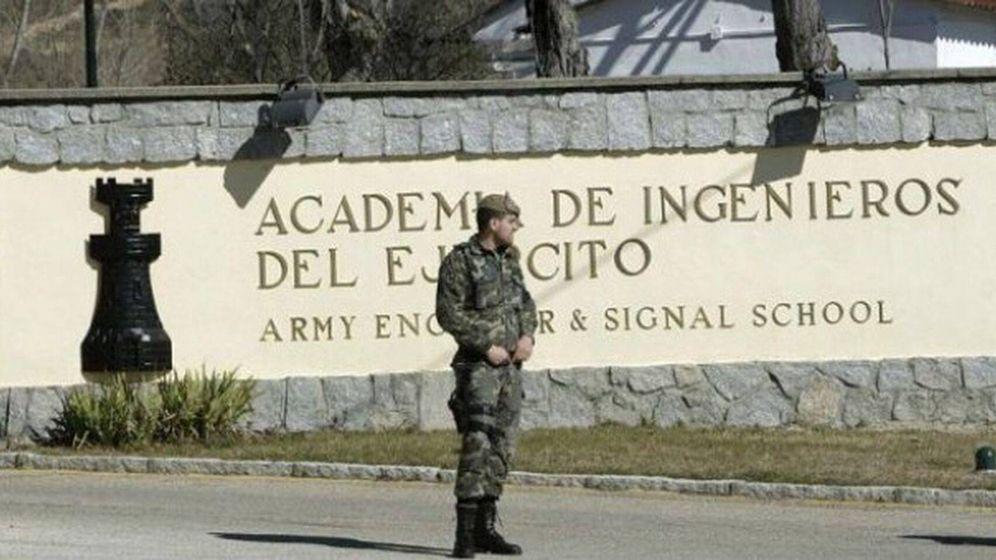 Foto: Academia de Ingenieros del Ejército en Hoyo de Manzanares. (EFE)
