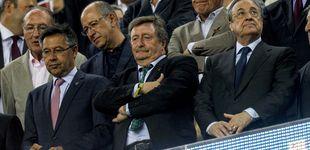 Post de Florentino y los árbitros (de los que no habla):