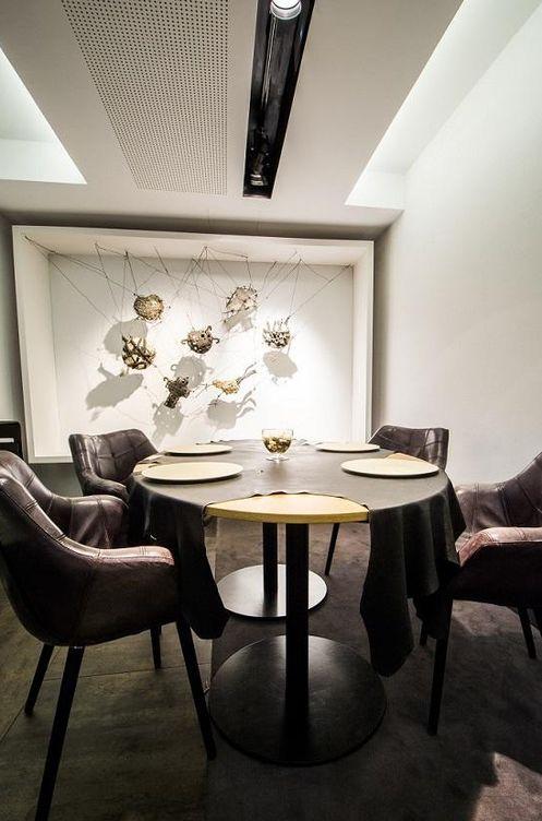 Restaurantes david mu oz paco roncero y sergi arola as for Restaurante sergi arola madrid