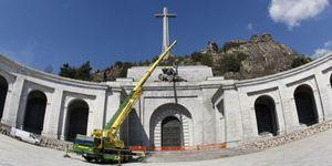 Foto: El Gobierno acelera el pleno funcionamiento del Valle de los Caídos desde el día 1