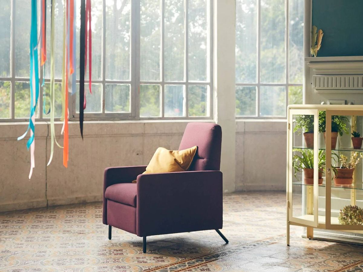 Foto: Nuevo sillón reclinable de Ikea. (Cortesía)
