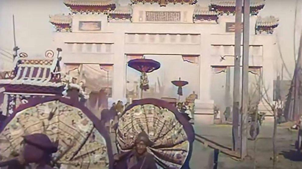 Disfruta de un increíble paseo en color por el Beijing de hace 100 años
