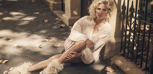 Post de El look otoñal con toques metalizados de Elsa Pataky
