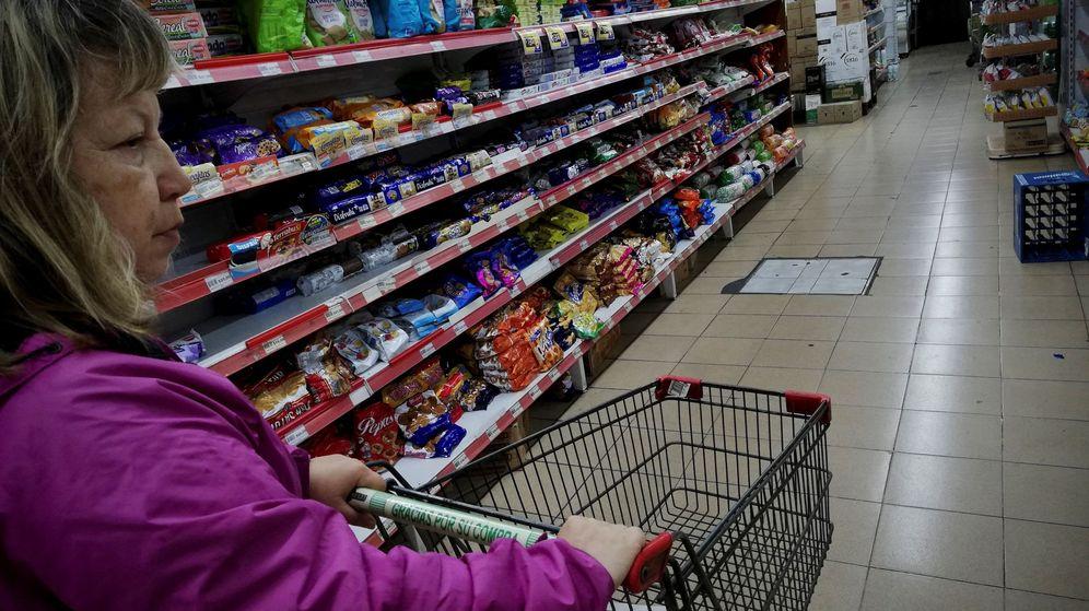 Foto: Pasillo de un supermercado. (EFE)