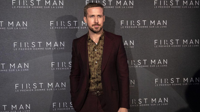 Ryan Gosling posa durante el estreno de la película 'First Man' en París. (EFE)