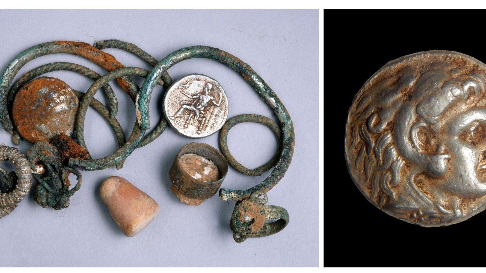 Jeques, ricos y subastas: el misterio de las extrañas monedas de Alejandro Magno